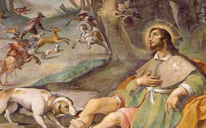 San Rocco e il suo cane, tra fede e poesia
