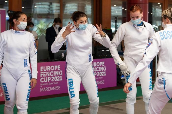 Spada femminile, tutta italiana la finale della coppa Europa 2