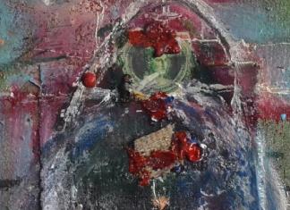 Un'opera di Sergio Spataro (particolare)