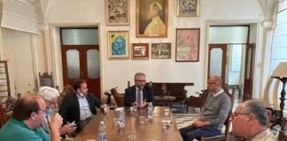 """Visita al Villaggio dei Ragazzi di Maddaloni dei dirigenti del gruppo """"Laminazione Sottile"""""""
