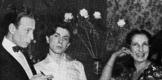Ernesto Calindri, Franco Pastorino e Olga Villi