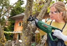Il taglio a mano del legno