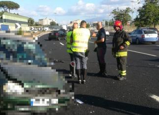 Incidente stradale in autostrada fra Caserta Nord e l'area di servizio di San Nicola la Strada