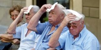 Ondate di caldo, pericolo per gli anziani