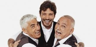 Stefano De Martino, Biagio Izzo e Francesco Paolantoni