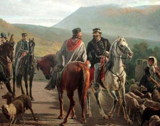 Carlo Ademollo - L'incontro di Teano