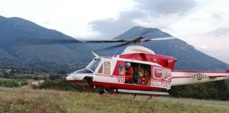 Piedimonte Matese, sette scout smarriti in un fitto bosco salvati grazie all'intervento di un elicottero dei Vigili del Fuoco