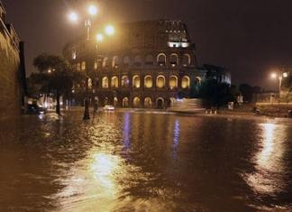 Quando piove a Roma