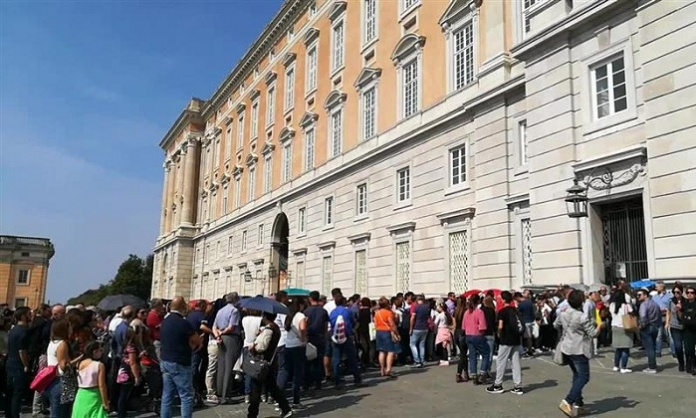 Reggia di Caserta, oltre 23mila visitatori nella settimana di Ferragosto