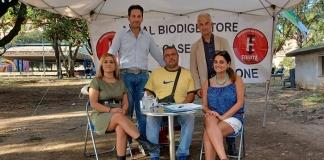 Caserta nel Verde e Pio Del Gaudio ancora in piazza contro biodigestore e cementificazione selvaggia