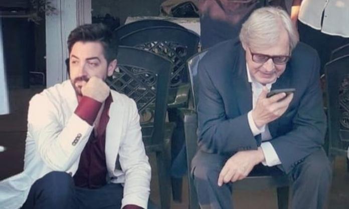 Cristiano Aresu e Vittorio Sgarbi