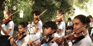 L'Orchestra Suzuki di Casagiove in Concerto al Quartiere Militare Borbonico