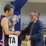 La premiazione del Palermo squadra vincitrice, Jannelli del Palermo e Claris Appiani