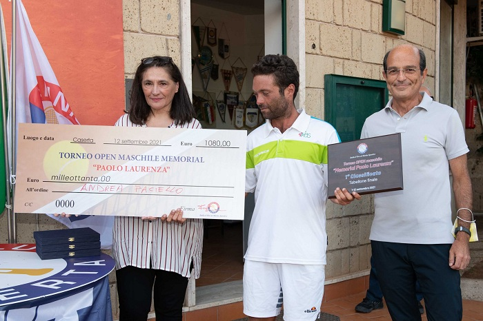 Mena Di Cerbo Laurenza, Andrea Paciello e Fabio Provitera