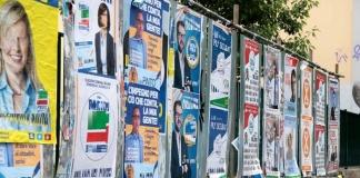battaglia combattuta a suon di manifesto elettorale