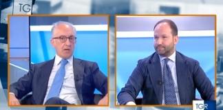 Confronto alla Rai tra i candidati sindaco di Caserta Carlo Marino e Gianpiero Zinzi